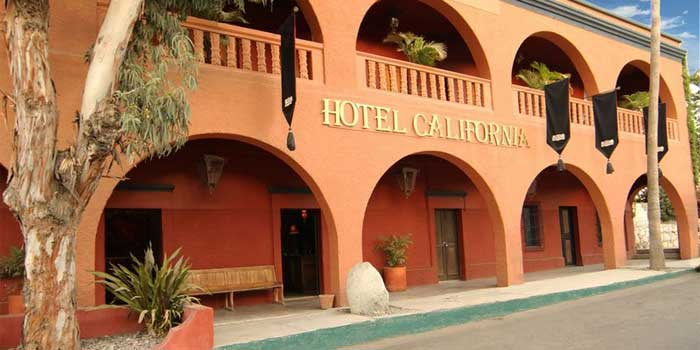 "Welcome to the hotel ""California"""